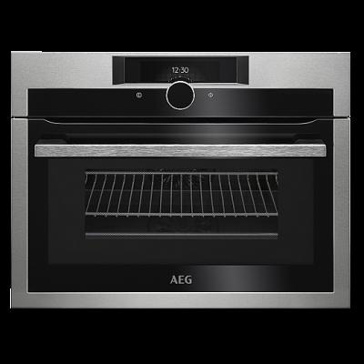 AEG KME861000M Beépíthető kompakt sütő+mikró hőlégbefúvás+grill funkció 43L