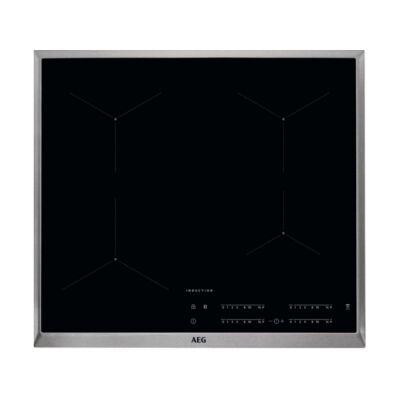 AEG IKB64431XB Beépíthető keretes indukciós főzőlap összevonz zónával booster stop+go