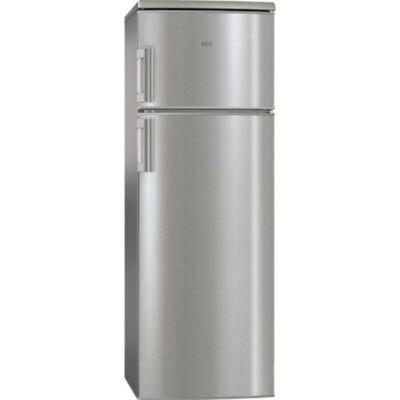 AEG RDB72321AX Inox felülfagyasztós kombinált hűtőszekrény 184/44L A++