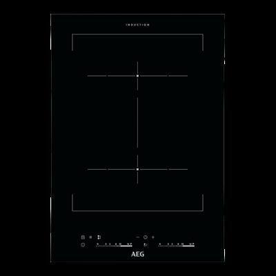 Aeg HC452401EB Beépíthető keret nélküli Indukciós domino üvegkerámia főzőlap Booster