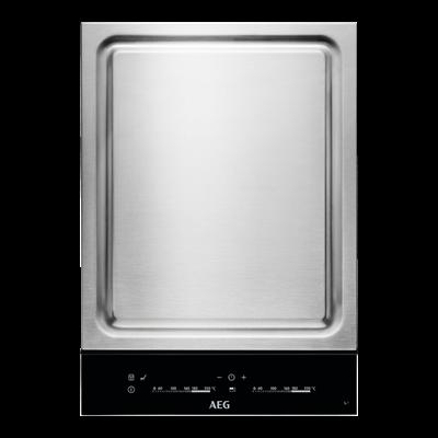 Aeg HC452601EB Beépíthető dominó Teppan Yaki Indukciós főzőlap Eco Timer