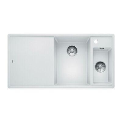 Blanco AXIA III 6 S Fehér színű jobbos gránit mosogatótálca üveg vágódeszkával