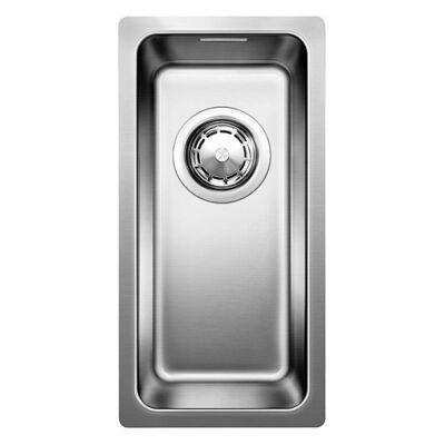BLANCO ANDANO 180-IF Selyemfényű rozsdamentes acél egymedencés mosogatótálca