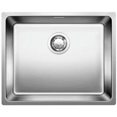 BLANCO ANDANO 500-IF Selyemfényű rozsdamentes acél  egymedencés mosogatótálca