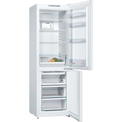 BOSCH KGN36NW30 Fehér kombinált alulfagyasztós hűtőszekrény NO FROST 215/87L A++