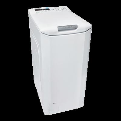 Candy CSTG 48TE/1-S Felültöltős mosógép kijelzővel Wifi+BT 7kg A+++
