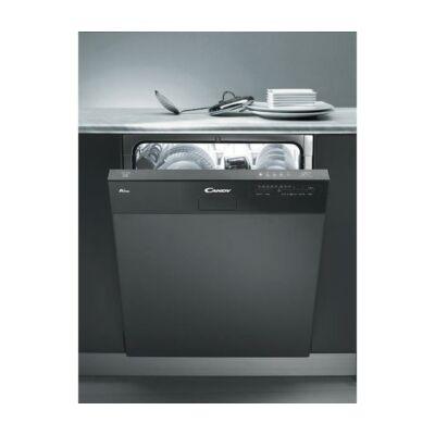 Candy CDS 1LS38B félig beépíthető mosogatógép külső kijelzővel 13 teríték A+