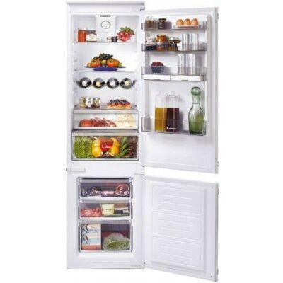 Candy BCBF 174 FT/N  Beépíthető kombinált hűtőszekrény NO FROST 180/63L A+