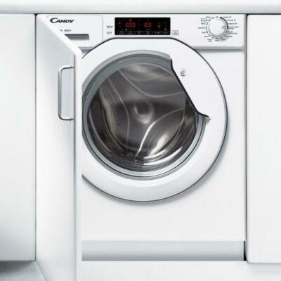 Candy CBWM 814D-S beépíthető mosógép digitális kijelzővel 8kg A+++