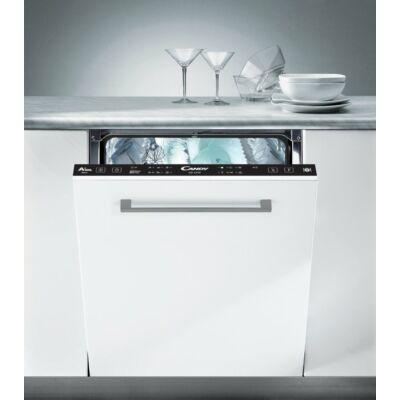 Candy CDI 2T1047 Teljesen beépíthető mosogatógép LED kijelzővel 10 teríték A++