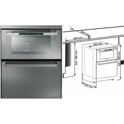 Candy DUO 609 X Beépíthető sütő és mosogatógép egyben