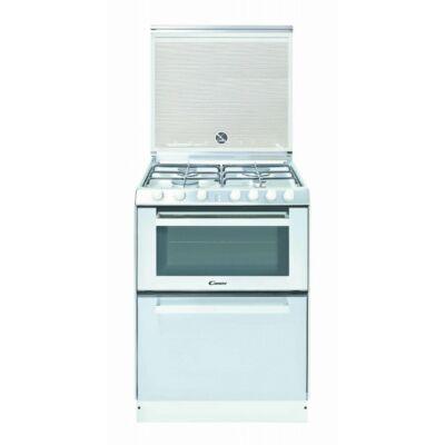 Candy TRIO 9501/1 W Fehér Kombinált gáztűzhely és mosogatógép egyben A energiaosztály