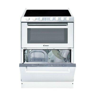 Candy TRIO 9503/1 W Fehér Üvegkerámialapos tűzhely és mosogatógép egyben A