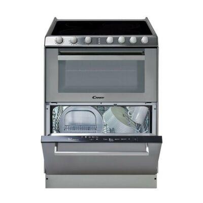 Candy TRIO 9503/1 X Üvegkerámia lapos tűzhely és mosogatógép egyben