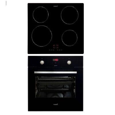 CATA MD 7010 BK -IB 6304 BK indukciós fekete szett elektromos sütővel Booster