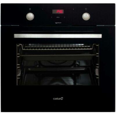 CATA MD 7010 BK Beépíthető fekete üveg multifunkciós programozható sütő Booster 65L A