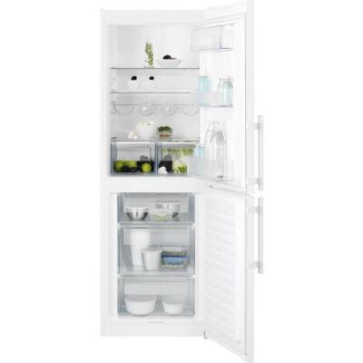 Electrolux EN3201MOW Fehér alulfagyasztós kombinált hűtőszekrény 198/111L A++