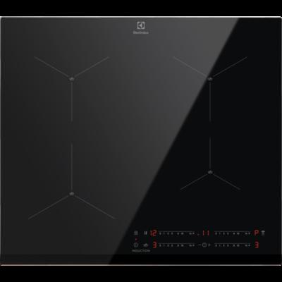 ELECTROLUX EIS62443 Fekete időzítős Indukciós főzőlap automata forralás programmal