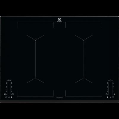 ELECTROLUX EIV744 Fekete Indukciós főzőlap kombinált főzőzónákkal időzítővel 70cm