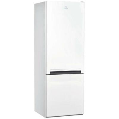 Indesit LI6 S1 W Fehér antibakteriális kombinált alulfagyasztós hűtőszekrény 196/75L A+