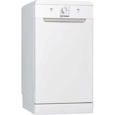 Indesit DSFE 1B10 fehér keskeny mosogatógép LED kijelzővel gyorsprogram 10 teríték A+