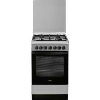 Indesit IS5G5PHX/E keskeny kombinált tűzhely digitális óra grill  pizza funkció 50cm  61L A