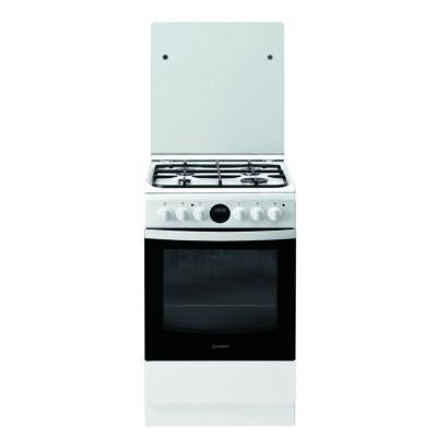 Indesit IS5G8CHW/E keskeny kombinált tűzhely digitális óra grill  pizza funkció 50cm  57L A