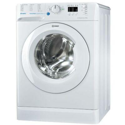 Indesit BWSA 71253 W EU Fehér keskeny mosógép kijelzővel 43,5cm mély 7kg A+++