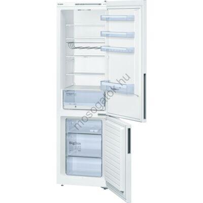 Bosch KGV39VW31 Fehér alulfagyasztós kombinált hűtőszekrény 248/94L A++