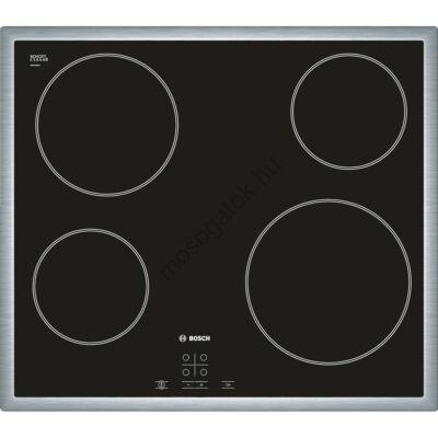 Bosch PKE645D17E Fekete érintőgombos üvegkerámia főzőlap