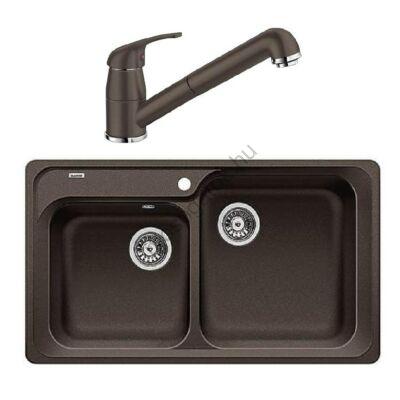 BLANCO CLASSIC 8 - DARAS-S mosogató  kihúzható csaptelep szett