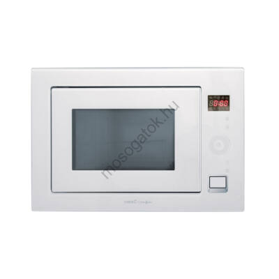 Cata MC 25 GTC WH  Can Roca beépíthető fehér grilles mikrohullámú sütő 25L