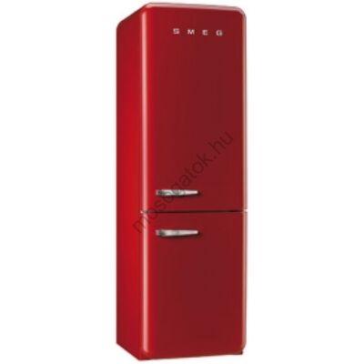 SMEG FAB32RRN1 Old Timer retro piros kombinált hűtő No Frost 229/75L A++