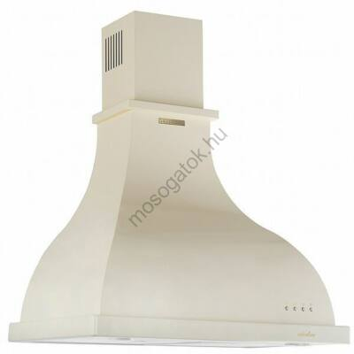 SiLVERLINE RETROLINE 2238 Rusztikus bézs kürtős fali páraelszívó LED fénnyel 60cm A+