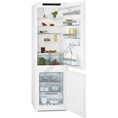 AEG SCE81816TS beépíthető alulfagyasztós kombinált hűtőszekrény No Frost 192/61L A+
