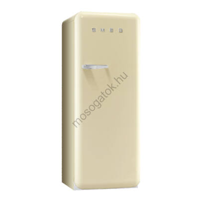 Smeg FAB28RCR3 retro egyajtós hűtőszekrény fagyasztóval bézs jobbos 222/26L A+++