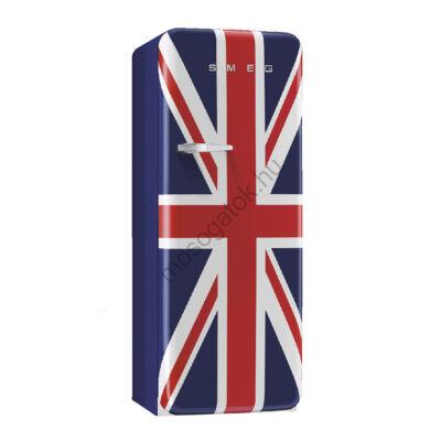 Smeg FAB28RUJ1  retro egyajtós hűtőszekrény fagyasztóval angol jobbos 222/26L A+
