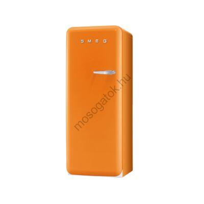 Smeg FAB28LO1 retro egyajtós hűtő fagyasztóval narancssárga balos 222/26L A+