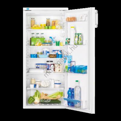ZANUSSI ZRA25600WA Fehér egyajtós hűtőszekrény fagyasztó nélkül 240L A+