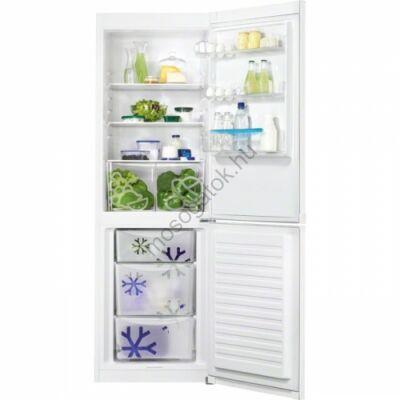 ZANUSSI ZRB36101WA Fehér alulfagyasztós kombinált hűtőszekrény 226/111L A+