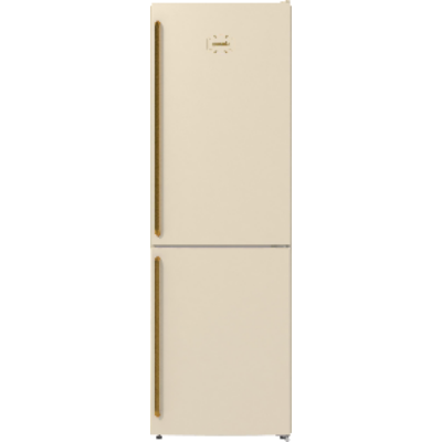 GORENJE NRK6192CLI Eusztikus bézs kombinált hűtő, A++, 185 cm, Classico design